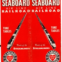 Seaboard Air Line Railroad Time Tables: Route of the Steamliners