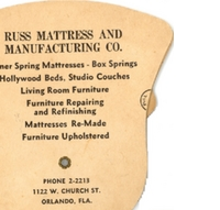 Russ Mattress and Manufacturing Company Fan