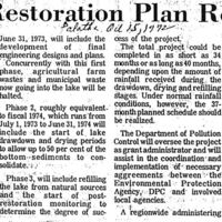 Apopka Restoration Plan Revealed
