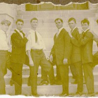 Male Students at Sanford High School 1920s