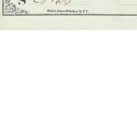 Personal Check from Edwin G. Eastman to S. B. Hubbard (June 8, 1871)