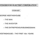 Westinghouse: The First 100+ Years