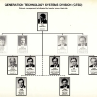 Westinghouse Electric Generation Technology Systems Division Organizational Chart