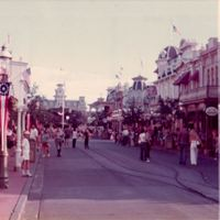 Main Street, U.S.A. at Magic Kingdom, 1974