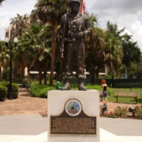 Battle of the Bulge Memorial at Lake Eola