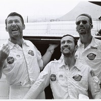 Apollo 7 Astronauts After Splashdown