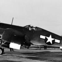 First Flight Test of the WE19B Engine Under Chance Vought Corsair FG-1