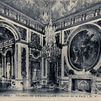 Salon de la Paix Postcard