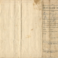 Quit-Claim Deed for George W. Oden (November 3, 1902)