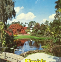 cypress gardens booklet from the 1950s that includes information on plants cypress gardens water ski show and motion pictures filmed at cypress gardens
