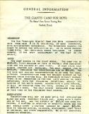 The Giants' Camp For Boys Application