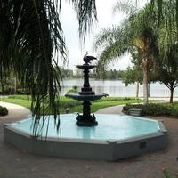 Sperry Fountain at Lake Eola Park, 2011