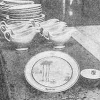Original Dinnerware from the Mayfair Inn