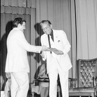 Dr. George H. Starke at Award Ceremony