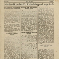 The Maitland News, Vol. 01, No. 04, May 29, 1926