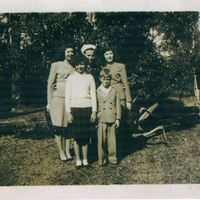 Mary Leonora Aulin, Charles Warren Aulin, Sr., Alice Kathryn Aulin, Bettye Jean Aulin, and Andrew Aulin, Jr.