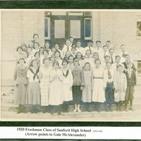 Sanford High School Freshman Class of 1920