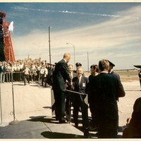 John Glenn Returning to Cape Canaveral Air Force Station Launch Complex 14 After Mercury 7 Flight