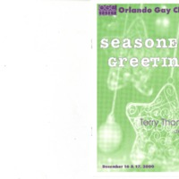 Seasoned Greetings, December 16 & 17, 2000