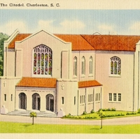 Cadet Chapel, The Citadel Postcard