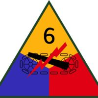 U.S. Army 6th Armored Division Insignia
