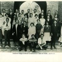 Sanford High School Class of 1924