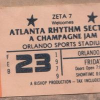 Atlanta Rhythm Section Ticket Stub