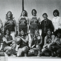 Lyman High School Girls Basketball Team, 1975