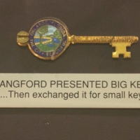 Mayor Carl T. Langford's Small Key to the City of Orlando