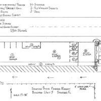 Sanford State Farmer's Market: Building Unit 5 Floorplan
