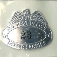 U.S. Post Office Letter Carrier Badge