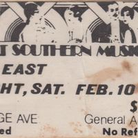 Head East Ticket Stub