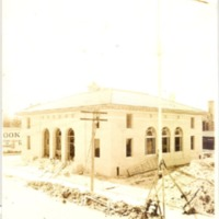 Construction of the Downtown Orlando Post Office, August 1, 1940