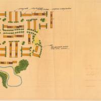 Sky Lake South Site Plan, 1972
