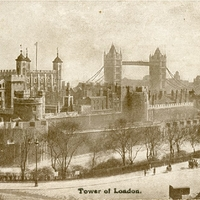 Tower of London Postcard