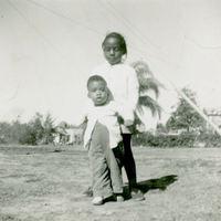 Patricia Black with Nephew Benjamin Hawkins, Jr.