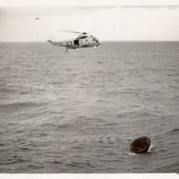 Splashdown and Recovery of Apollo 11