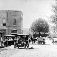 Intersection of Plant Street and Main Street in Winter Garden Before the Fire of 1912