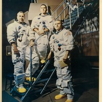 Apollo 8 Crew: James A. Lovell, Jr., William A. Anders, Frank Borman