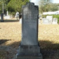 Headstone of David Mizell, Jr. at Conway United Methodist Church Cemetery