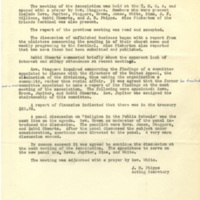 Minutes of Monthly Meeting, March 5, 1959