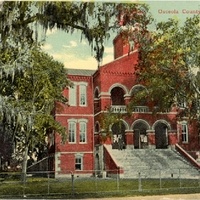Osceola County Court House Postcard