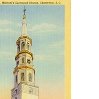 St. Michael's Episcopal Church Postcard