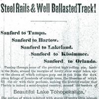 South Florida Railroad Advertisement