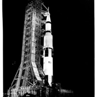 Apollo 13 Before Launch at Launch Complex 39A