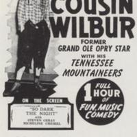 On the Stage: America's Greatest Hillbilly Comedian Cousin Wilbur