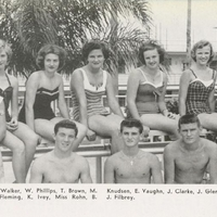 Seminole High School Swim Team, 1958