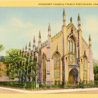 Huguenot Church, French Protestant Postcard