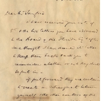 Letter from Edwyn S. Dawes to Henry Shelton Sanford (December 8, 1881)