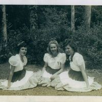Alice Kathryn Aulin, Madelyn Bogard, and Mary Leonora Aulin